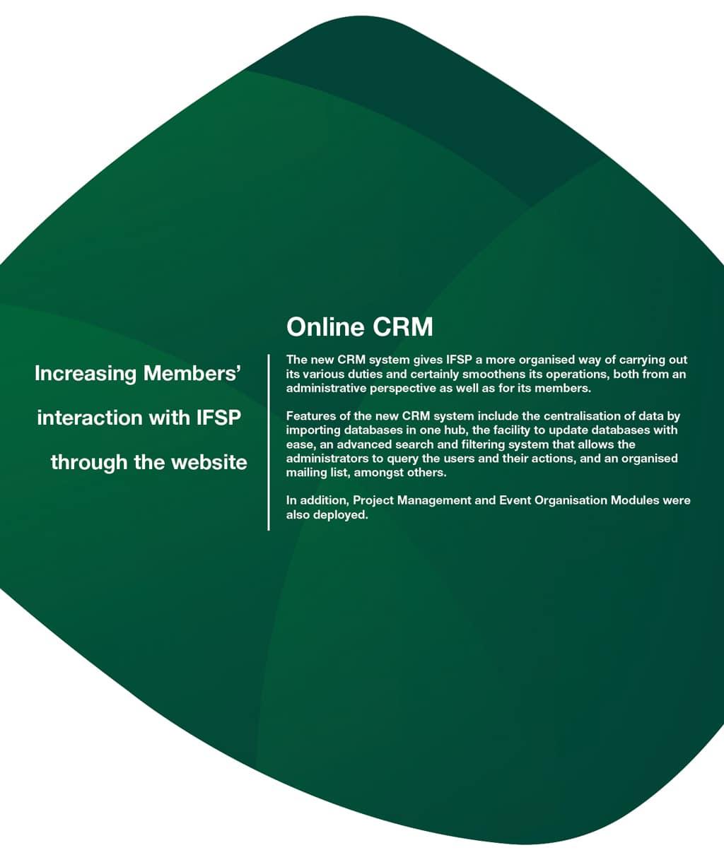 IFSP-CRM-1 case study
