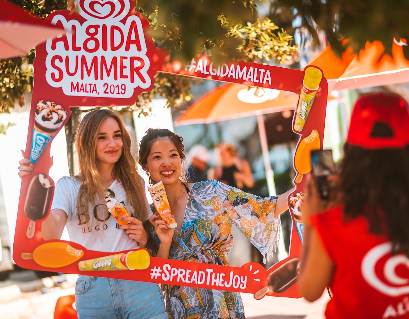 Algida - Spreading the Joy in Malta image